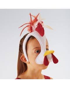 Cockerel Headband With Sound