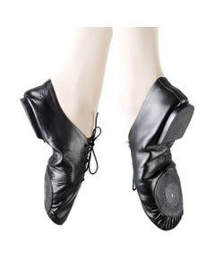 Plume Leather Split Sole Jazz Shoes