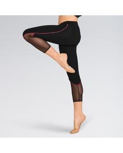 Bloch Girls Contrast Piping Detail 7/8 Leggings