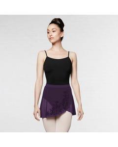 Bloch Lenore Flocked Wrap Skirt