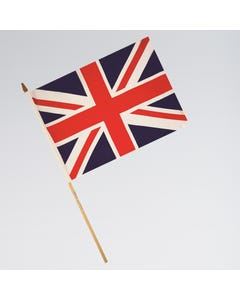 Union Jack Waver Flags - Pack of 12