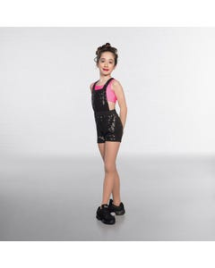 1st Position Sequin Dungarees