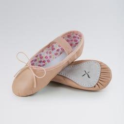 Capezio Daisy Ballet Shoes Leather Pink Narrow