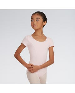 Capezio Princess Seam Short Sleeved Leotard