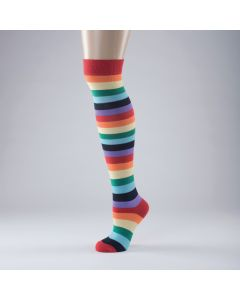 Multi Stripe Long Socks - Adult One Size