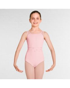 Bloch Allena Mesh Panelled Tank Leotard