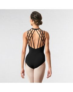Bloch Sakura Rouleau Loop Back Tank Leotard