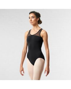 Bloch Arrosa Scoop Neck Mesh Back Tank Leotard