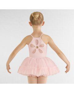 Bloch Addelyn Heart Mesh Tutu Skirt