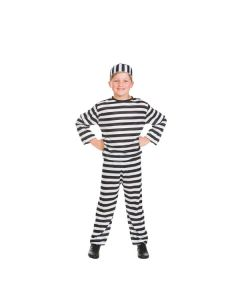 Convict Outfit with Hat