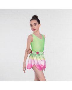 1st Position Ombré Petal Skirt Overlay