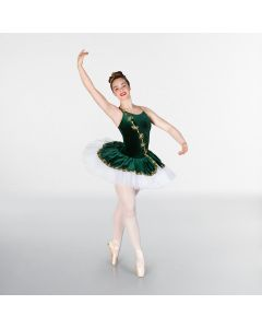 1st Position Prestige Emerald Appliqué Tutu