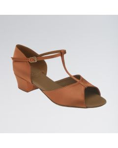 DSI Delphine Satin T-Bar Sandal Shoe