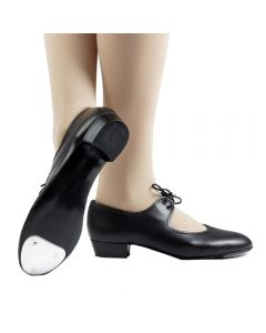 Low Heel Fitted Toe Tap Shoes