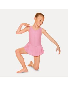 Roch Valley Sleeveless Skirted leotard Pastel Pink Size 0