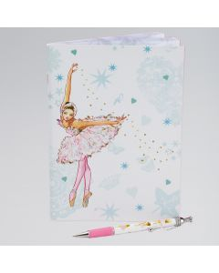 Swan Ballerina Soft Notebook
