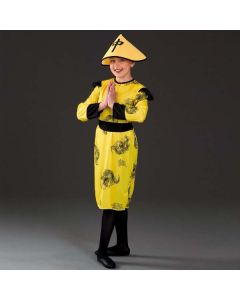 Yellow Chinese Girl