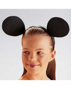 Mouse Ears On Alice Band