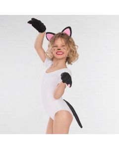 Black Cat Dress Up Set