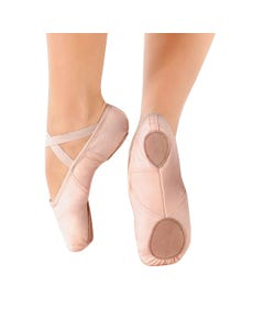 So Danca Stretch Insert Canvas Ballet Shoe
