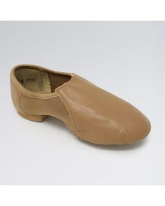 So Danca Leather Jazz Shoe with Neoprene Arch and Rubber Split Sole
