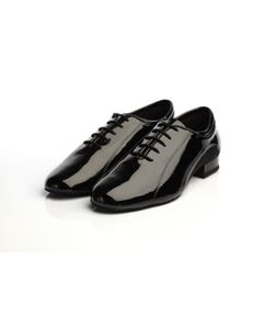 Supadance Mens Ballroom And Practice Patent/Mesh Shoe