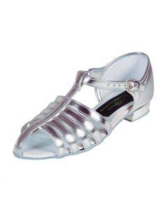 Jessica PU Low Heel Regulation Strip Childrens Sandal