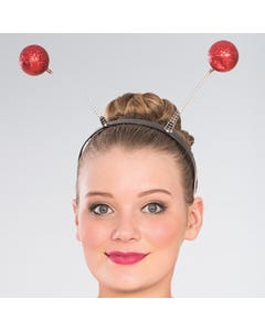 Red Glitter Boppers