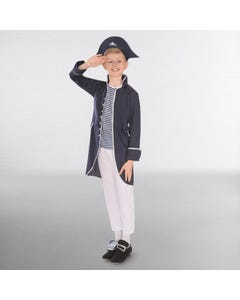 Sailor Captain (Childs) Navy & White