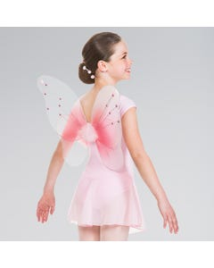 Pink Wings with Gems