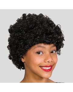 Afro Curly Wig Black Child Size