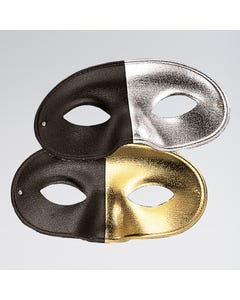 Two-tone Face Mask Gold/Black